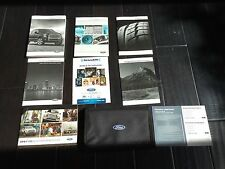 2016 FORD F-150 OWNERS MANUAL W/ SYNC 3 GUIDE BOOKS OEM SET LIMITED KING RANCH