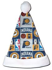 NEW NBA Indiana Pacers Christmas Basketball Santa Hat Personalized 18""