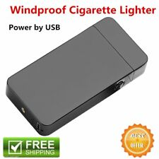 Windproof Electric Lighter Arc Metal Flameless Torch USB Rechargeble Lighter M2