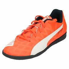 Boys Junior Puma Astro Turf Football Trainers Evo Speed 5.4 TT Jr