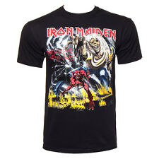 Official T Shirt IRON MAIDEN Black BEAST Logo Print Band Tee All Sizes