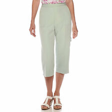 Alfred Dunner Savannah Capris Size 8, 16 Msrp $48.00 New Mint