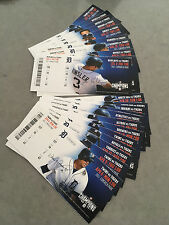 2015 Detroit Tigers Full Tickets YOU PICK ONE GAME Miguel Cabrera Martinez