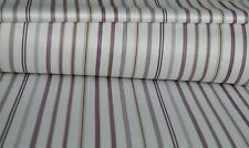 800TC Egyptian Cotton 1pc  FLAT SHEET Sateen Blue Black Stripe