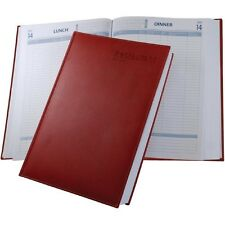 Castelli Restaurant Booking Diary - Black or Red
