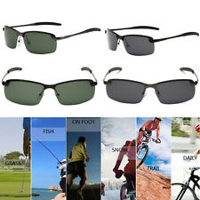 Mens Polarized Aviator Driving Goggles Outdoor Cycling Sunglasses Glasses UV400