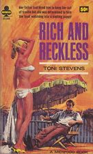 Toni Stevens: Rich and Reckless. : Midwood [Canadian] 128560