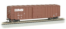 "Bachmann-ACF 50'6"" Outside-Braced Sliding-Door Boxcar - Ready to Run - Silver Se"