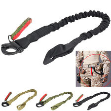 Outdoor One Point Sling Strap Bungee Quick Release Rifle Gun Sling