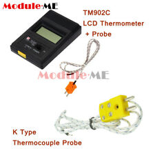 TM902C LCD KType Thermometer Temperature Reader Meter Probe Thermocouple Probe M