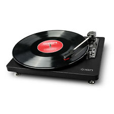 NEW ION Audio Compact LP Turntable - Black by i World Australia