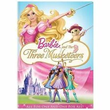 Barbie and The Three Musketeers (DVD, 2009)