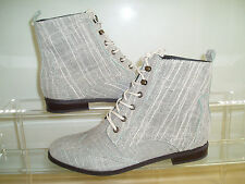 NEW STEVE MADDEN 4 THE COOL PEOPLE WOMEN'S LACE-UP BOOTS SIZES 8 & 8.5 COCOO