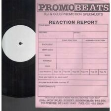 """ATUMA Love Hurts 12"""" 2 Track White Label Test Pressing With Info Sheet (12newtar"""