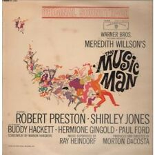 MUSIC MAN Original Soundtrack LP 18 Track Mono In A Flipback Sleeve Some Light H