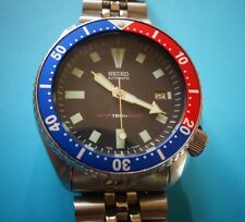 Montre plongée automatique SEIKO 7002 7000, 150m (diver's watch) rare SKX