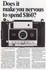 1968 Polaroid Automatic 250 Land Camera Print Ad (6557)