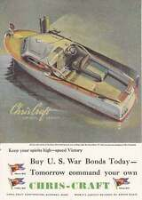 1944 Chris-Craft Express Cruiser: Speed Victory Print Ad (18313)