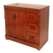"Foremost FMNACA3621D 36"" Vanity Cabinet Only Warm Cinnamon"