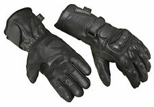 Motorbike Motorcycle Gloves Carbon Knuckle Protection Thermal Waterproof New