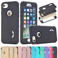 Rugged Hybrid Heavy Duty Shockproof Hard Case Cover for iPhone 5S SE 6 6S 7 Plus