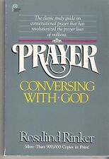 Prayer, Conversing with God, Rosalind Rinker, Softcover