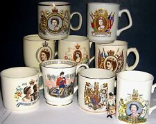 ROYAL COMMEMORATIVE COFFEE CUPS 1953/2002 ~ click HERE to browse or order