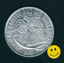 JEAN LAFITTE And His Buccaneers + Ship + Parrot + Treasure Chest - Doubloon 1976