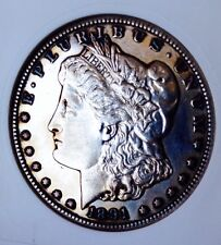 1891 CC MORGAN! GORGEOUS COIN! UNCIRCULATED DETAILS! PL! RARE KEY DATE! MUST SEE