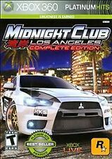 Midnight Club: Los Angeles - Complete Edition (Platinum Hits) Xbox 360 PreOwned