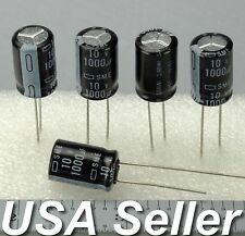 1000uF 10V Nippon Chemi-Con SME Electrolytic Capacitors 5-20pcs - USA Shipping