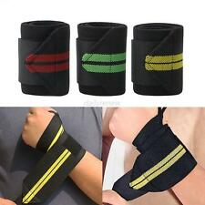 Weight Lifting Training Wraps Wrist Support Gym Fitness Cotton Bandage Strap Hot