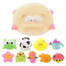 Squirter Bath Time Toy Floating Baby Toy Bathing Rubber Mini Adorable Animal