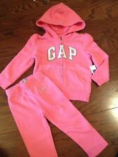NWT~Baby Gap Pink Hoodie Outfit Girl New with Tags 12-18 mth, 18-24 mth,2T,3T,4T