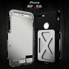 IPhones and Samsung Galaxy Rugged Armor Metal Aluminum Hybrid Shockproof Case