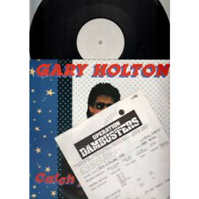 """GARY HOLTON Catch A Falling Star 12"""" 2 Track Extended Version White Label Test P"""