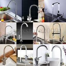 Modern Multi Style Faucet Mixer Tap Chrome Pull Out Swivel Kitchen Basin Sink AU