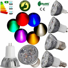 6W Dimmable High Power LED Spot Light Bulb Epistar Lamps GU10 B22 GU5.3 MR16 E14