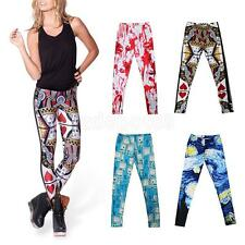 Womens Legging Costume Cosplay Skinny Stretch Pant LADIES JEGGINGS
