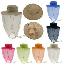 Fishing Mosquito Bug Bee Insect Repellent Mesh Net Hat Head Face Neck Protector