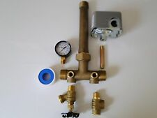 1 x 11 + UNION Pressure Tank Tee Kit BRASS NO LEAD water well SQUARE D SWITCH