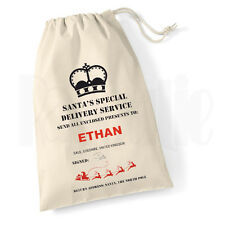 Personalised Childrens Christmas Bag- Personalised Santa Sack 'Special Delivery'