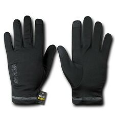 Rapid Dom Nylon Gloves Liners Breathable Winter Tactical Patrol Military Black