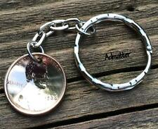LUCKY PENNY KEYCHAIN PICK YOUR YEAR BIRTHDAY ANNIVERSARY GIFT KEY RING 1959-2016