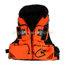 Boating Sea Rock Fishing Detachable Vest Floating Life Jackets PFD L/XL/XXL