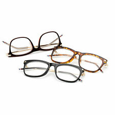 Women's Trendy Vintage Eyeglasses Metal Alloy Frame Plain Glass Spectacles SM
