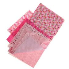 50x50cm DIY Floral Dot Cotton Fabric Patchwork Cloth For Craft Sewing