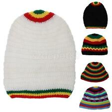 Rasta Hat Jamaica Marley Reggae Cap Rastafari Dreadlocks Tam Hat Winter Warm Ski