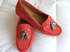 PETER MILLAR WOMEN'S SUEDE LOAFER SIZE 9 LF16F11 LILY NWB