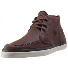Lacoste Sevrin Mid 416 1 Mens Chukka Boots Brown New Shoes